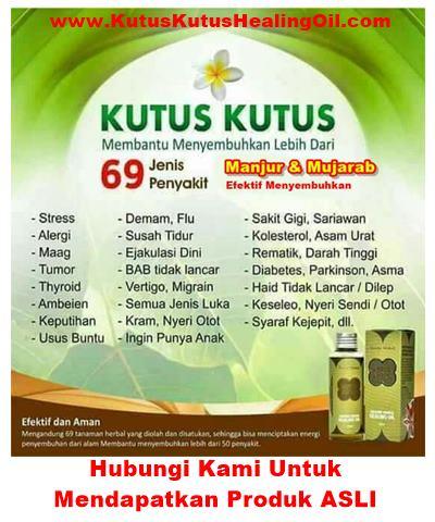 Minyak Kutus Kutus Di Surabaya